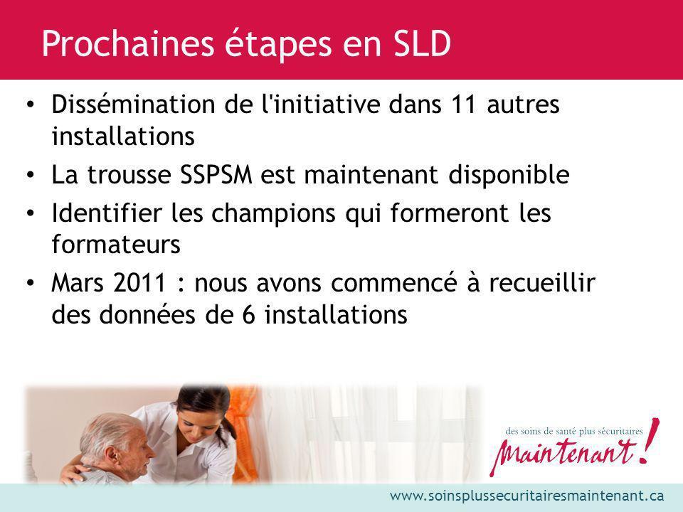Prochaines étapes en SLD