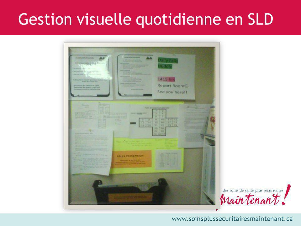 Gestion visuelle quotidienne en SLD