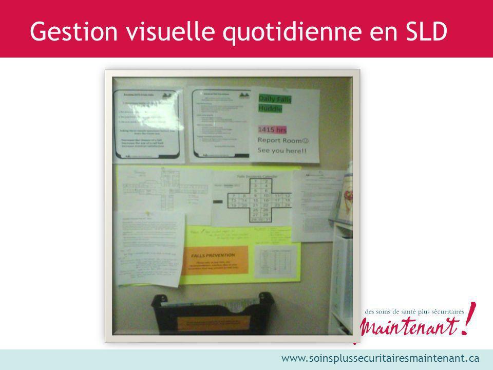 Gestion visuelle quotidienne en SLD