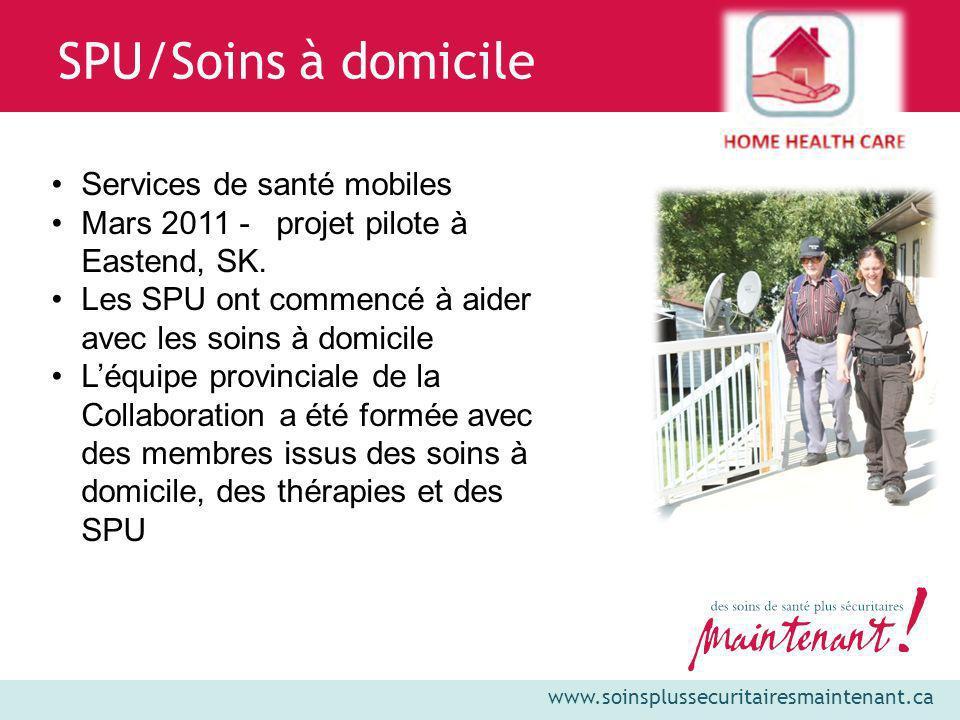 SPU/Soins à domicile Services de santé mobiles
