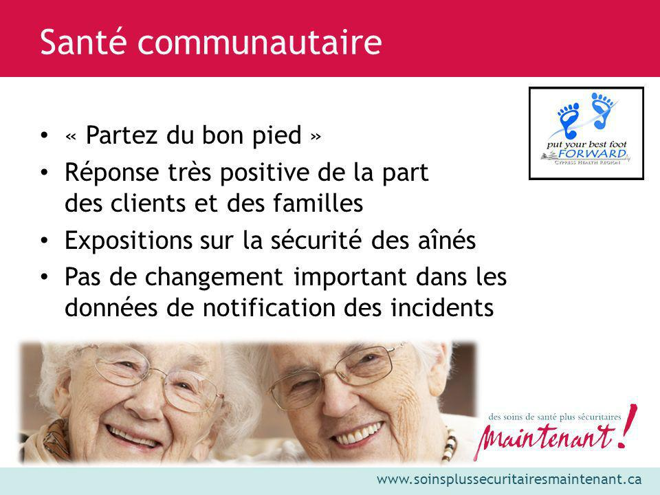 Santé communautaire « Partez du bon pied »