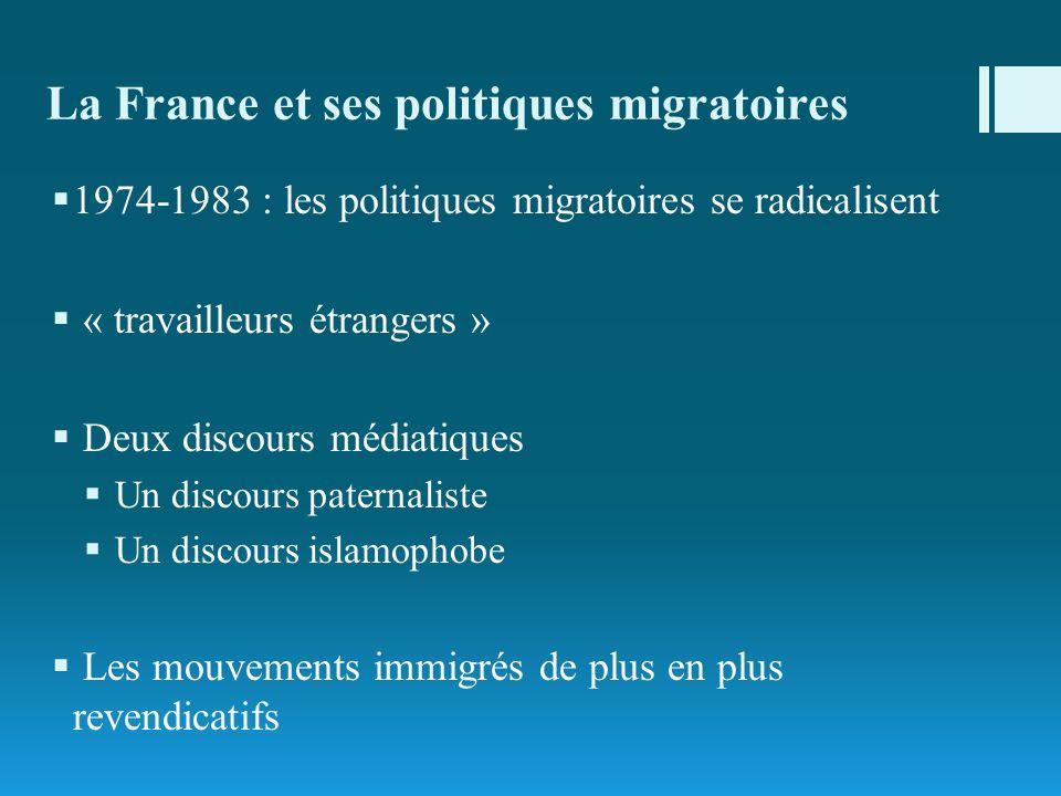 La France et ses politiques migratoires