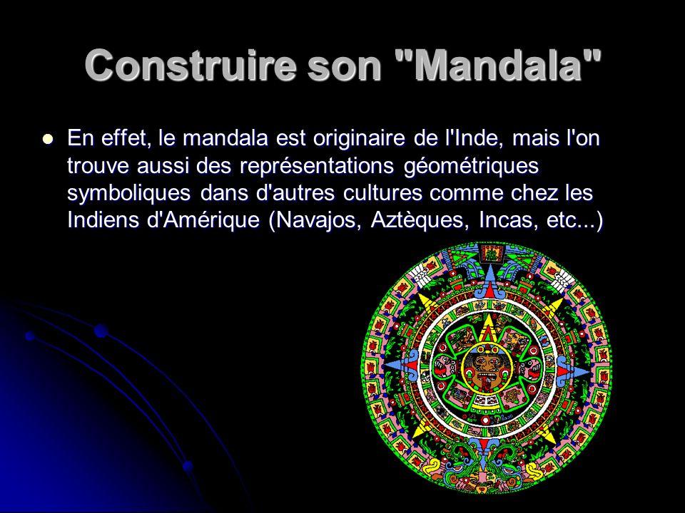 Construire son Mandala