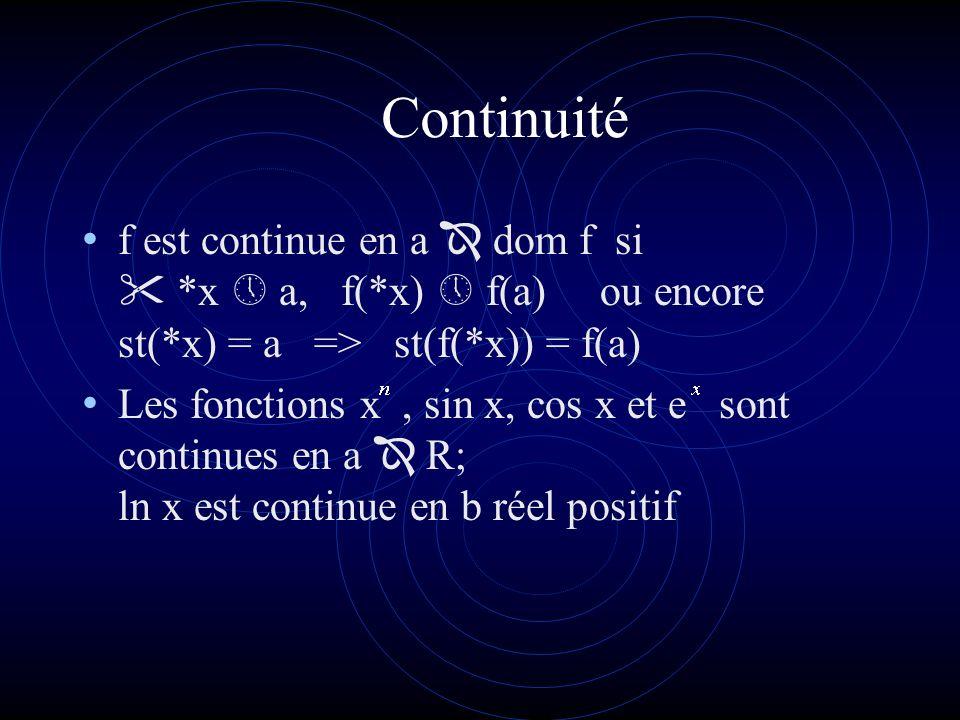 Continuité