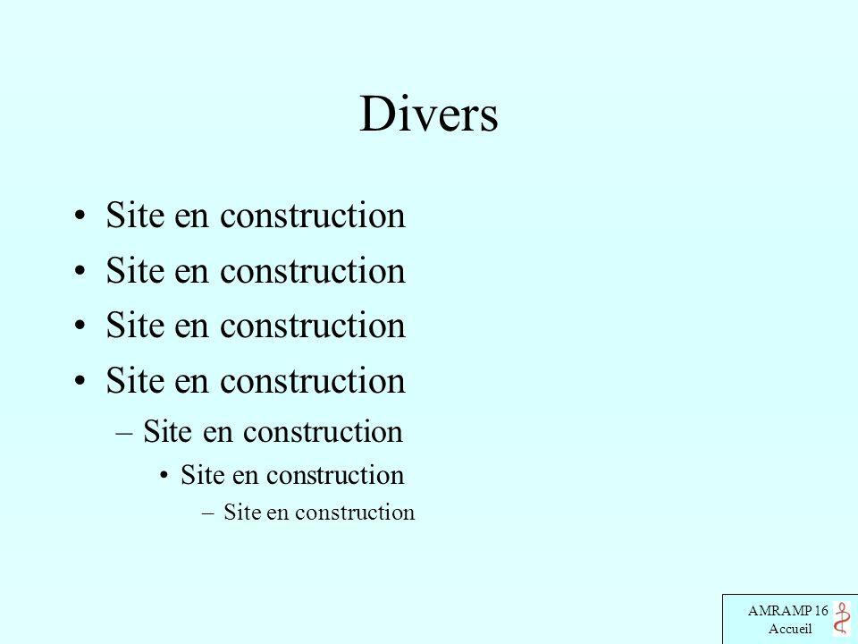 Divers Site en construction