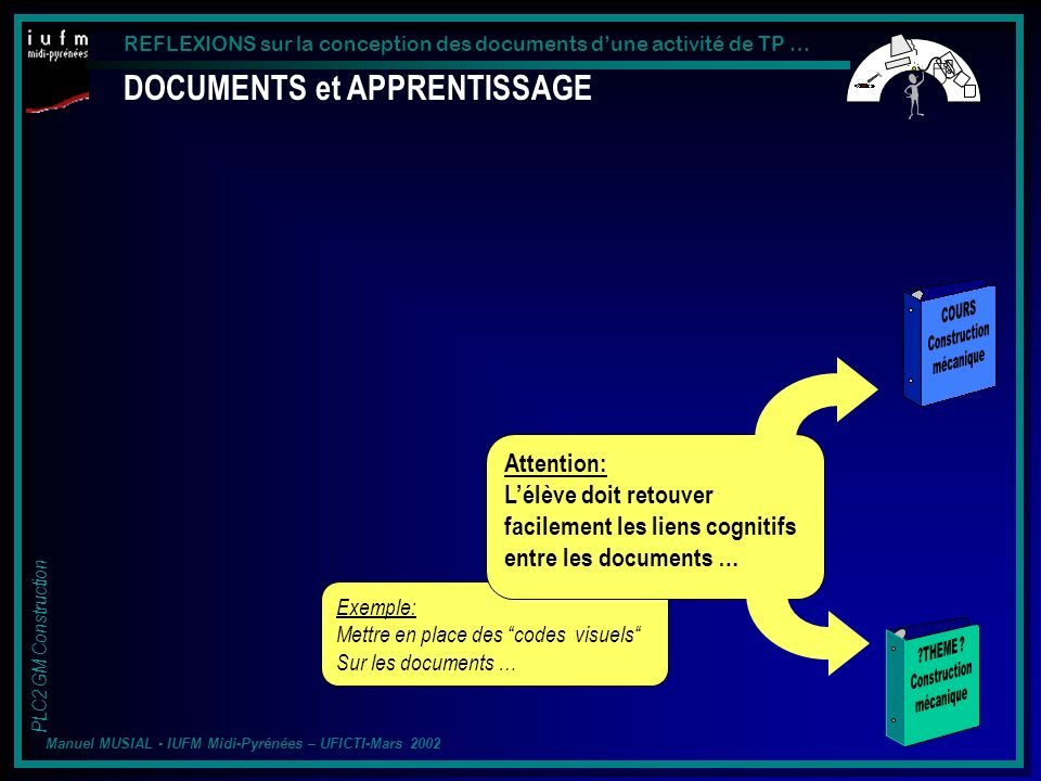 DOCUMENTS et APPRENTISSAGE