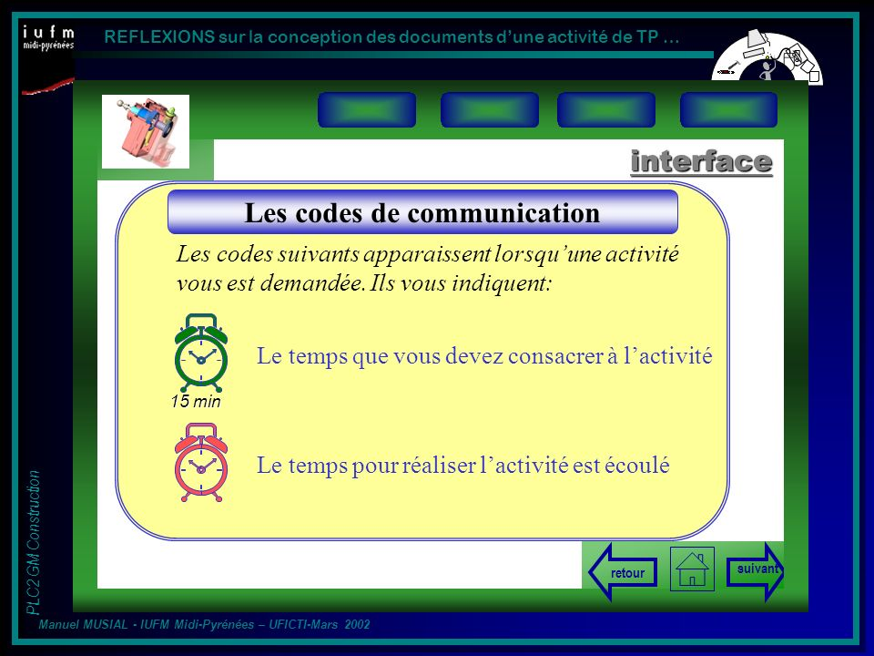 Les codes de communication