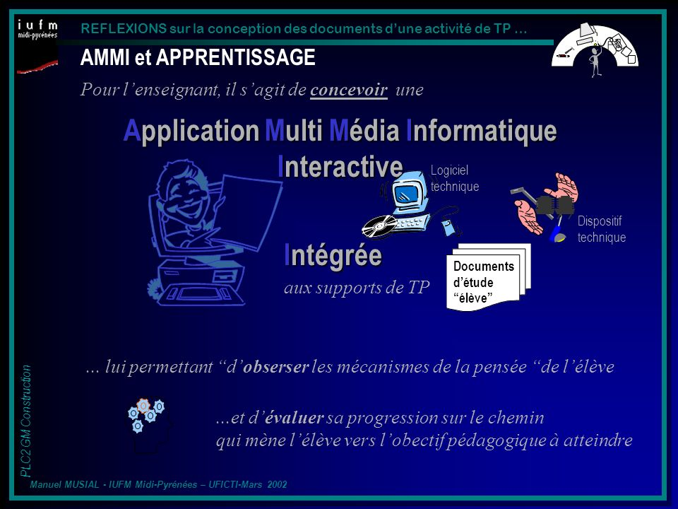 Application Multi Média Informatique