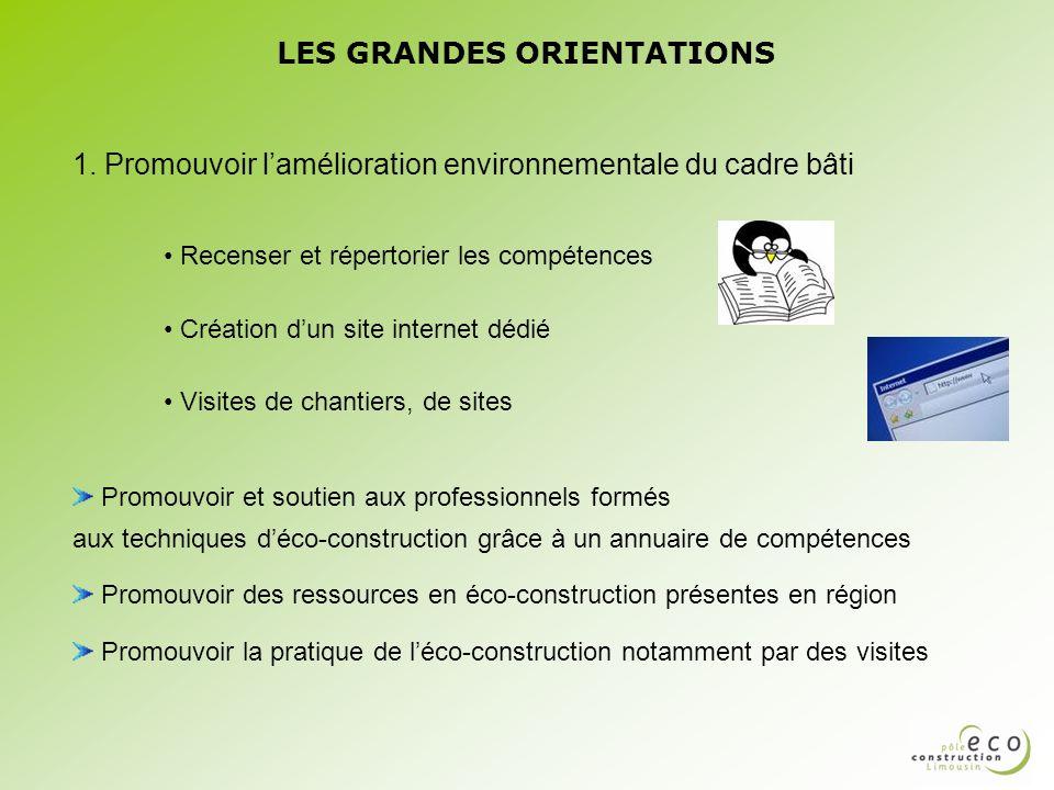 LES GRANDES ORIENTATIONS