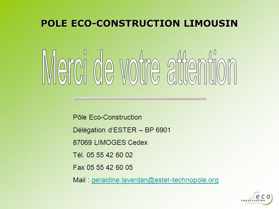 POLE ECO-CONSTRUCTION LIMOUSIN