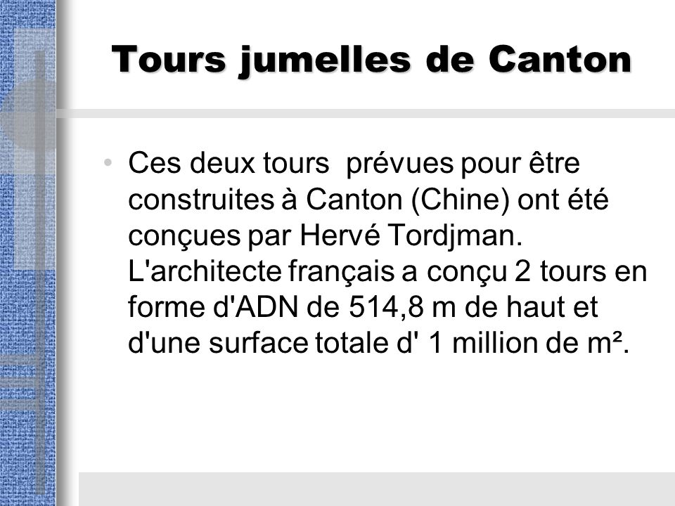 Tours jumelles de Canton