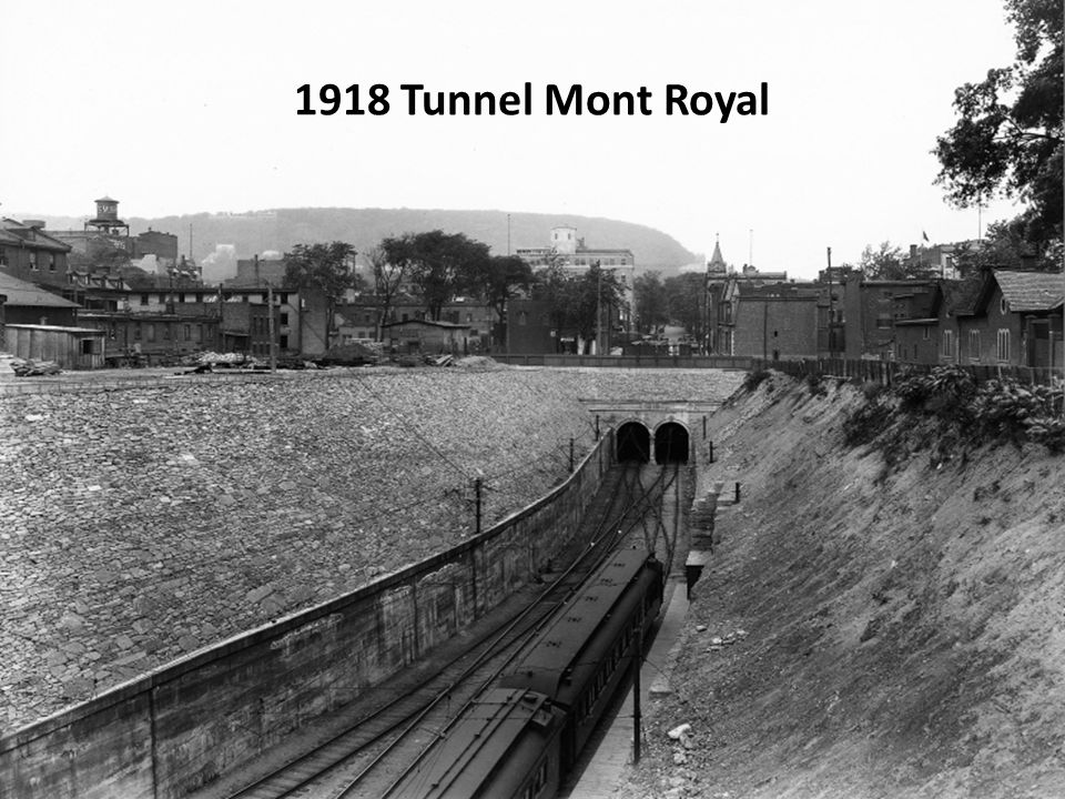 1918 Tunnel Mont Royal
