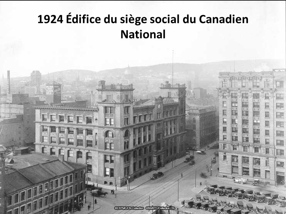 1924 Édifice du siège social du Canadien National