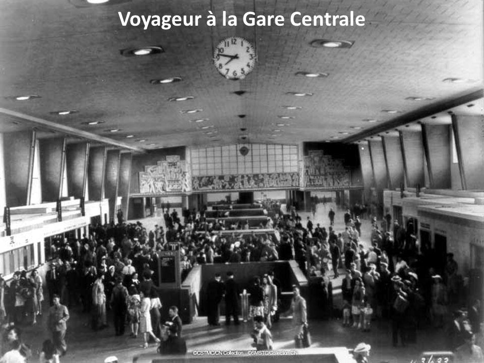 Voyageur à la Gare Centrale