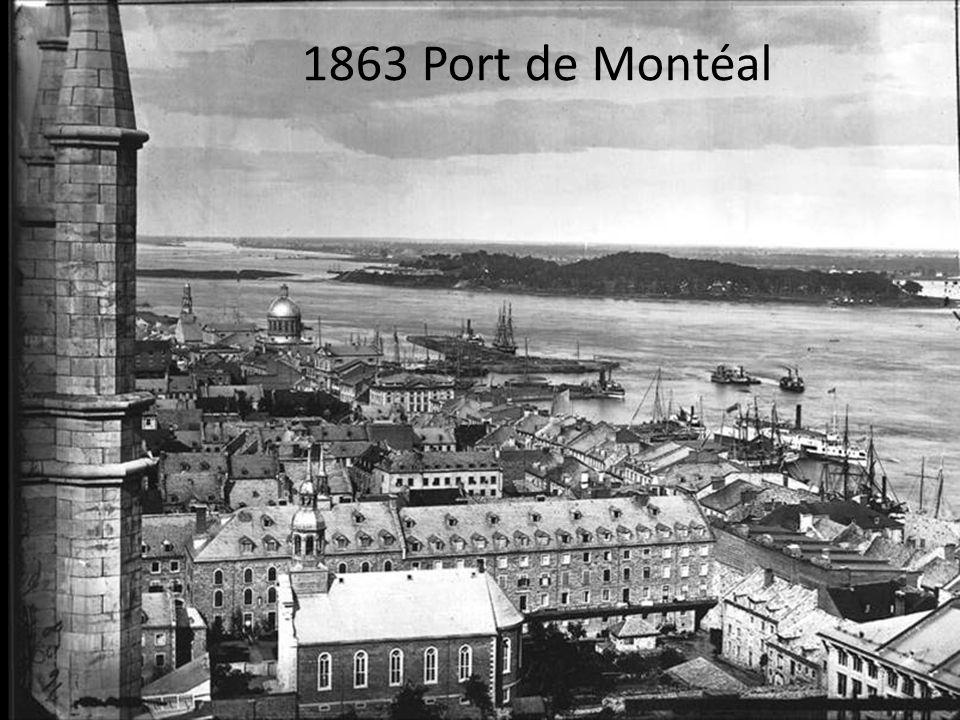 1863 Port de Montéal
