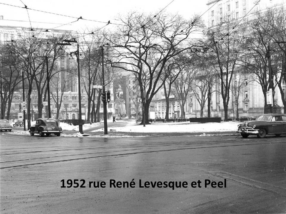 1952 rue René Levesque et Peel
