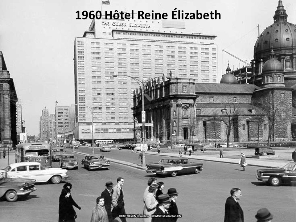 1960 Hôtel Reine Élizabeth