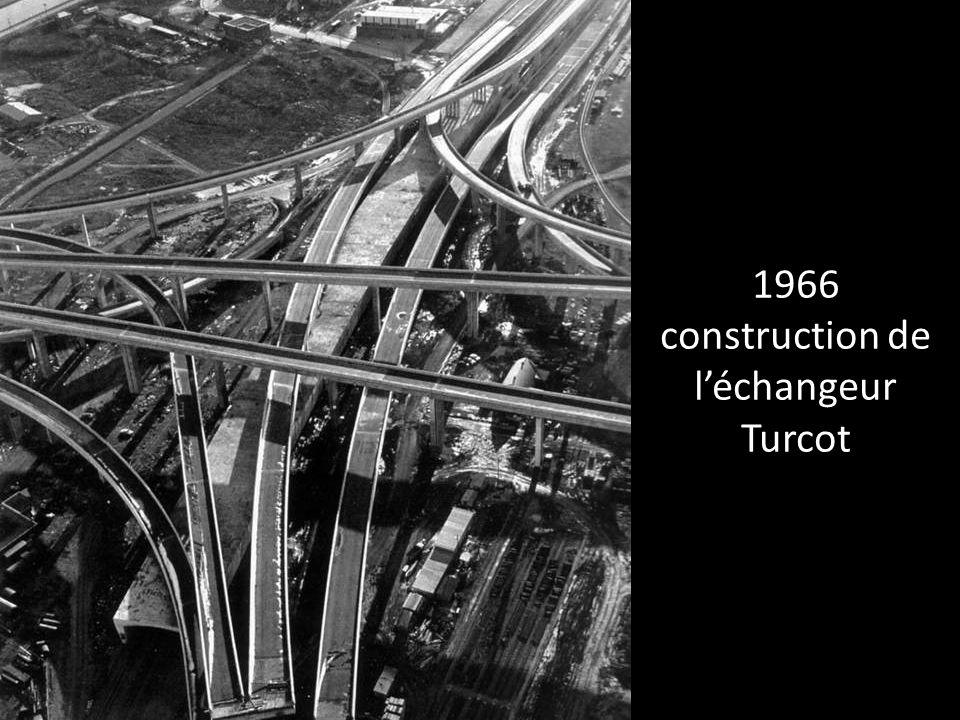 1966 construction de l'échangeur Turcot