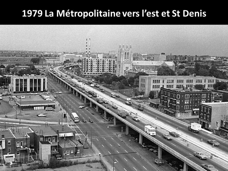 1979 La Métropolitaine vers l'est et St Denis