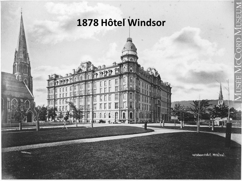 1878 Hôtel Windsor
