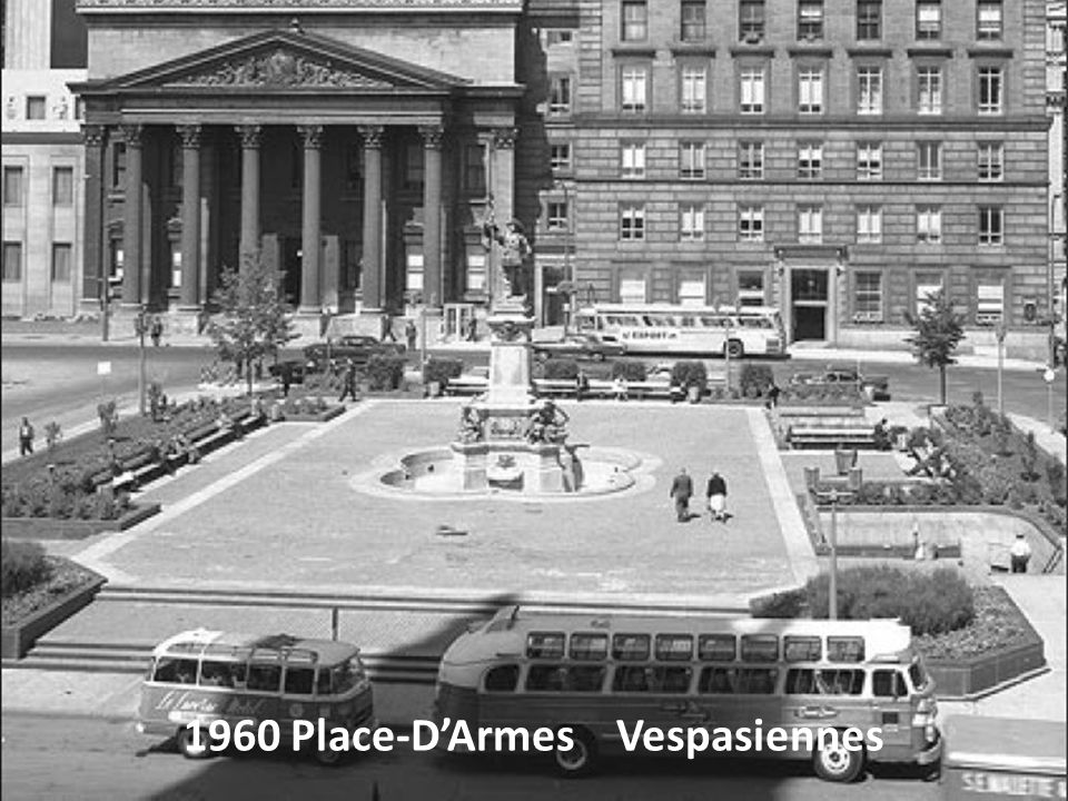 1960 Place-D'Armes Vespasiennes