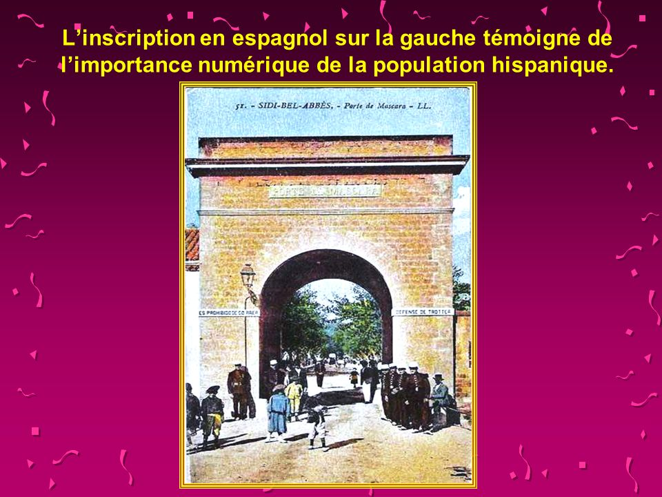L'inscription en espagnol sur la gauche témoigne de l'importance numérique de la population hispanique.
