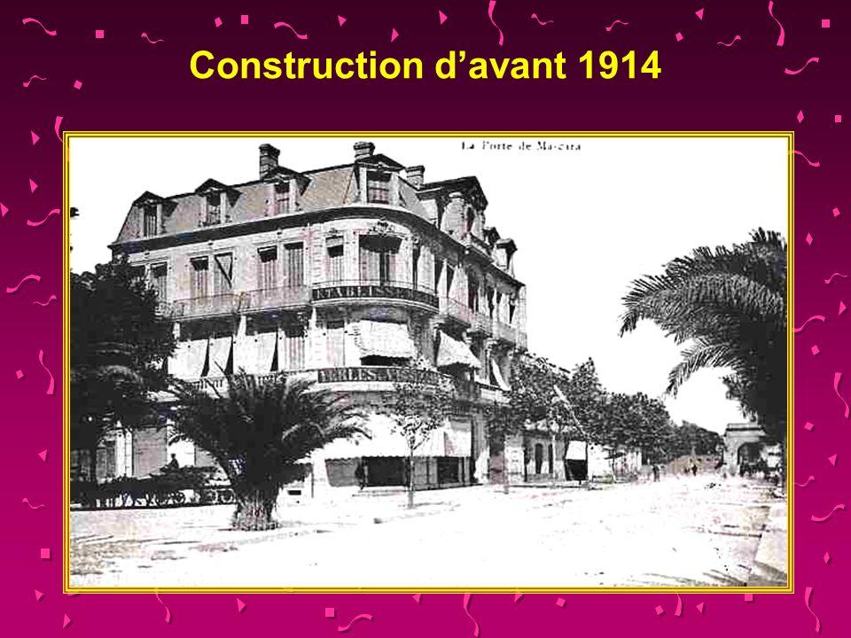 Construction d'avant 1914