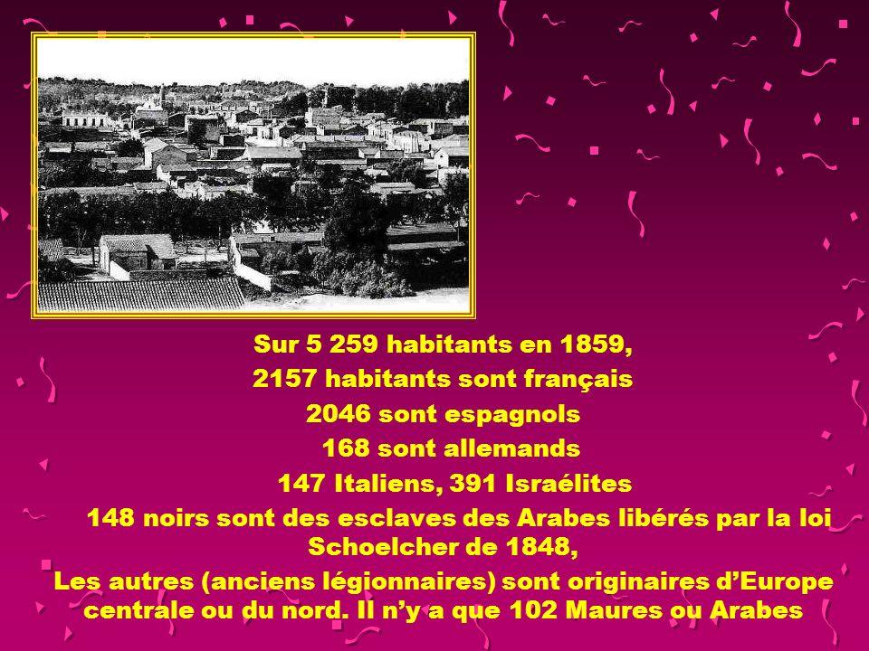 2157 habitants sont français