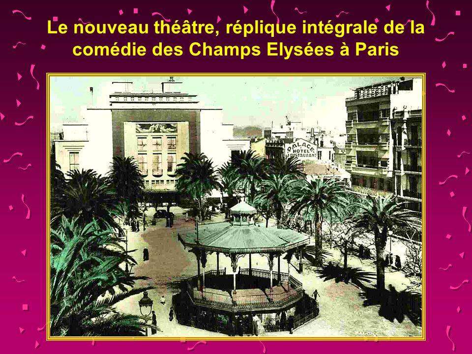 Le nouveau théâtre, réplique intégrale de la comédie des Champs Elysées à Paris