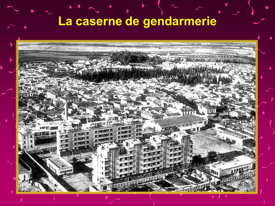 La caserne de gendarmerie
