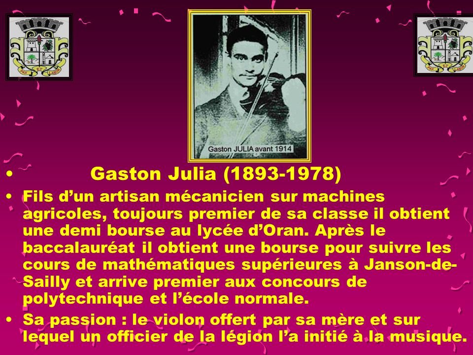 Gaston Julia (1893-1978)