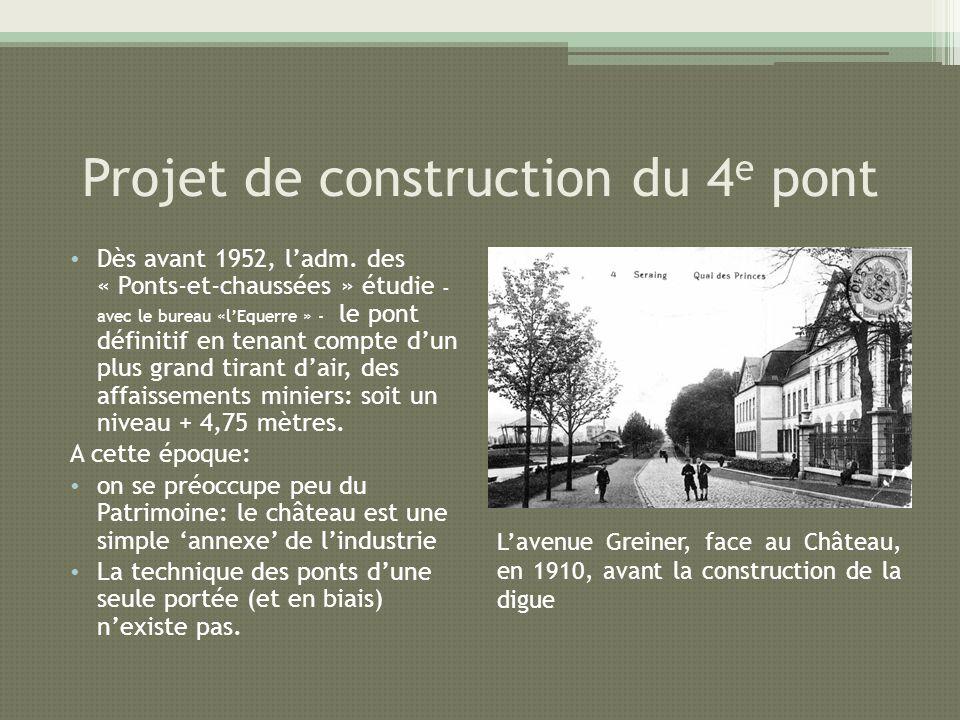 Projet de construction du 4e pont