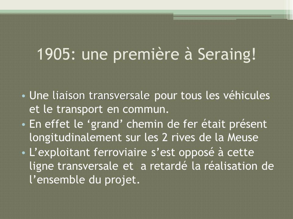 1905: une première à Seraing!