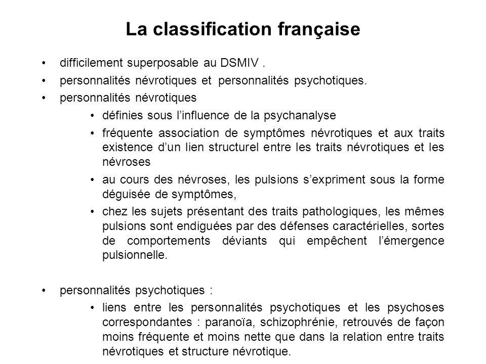 La classification française