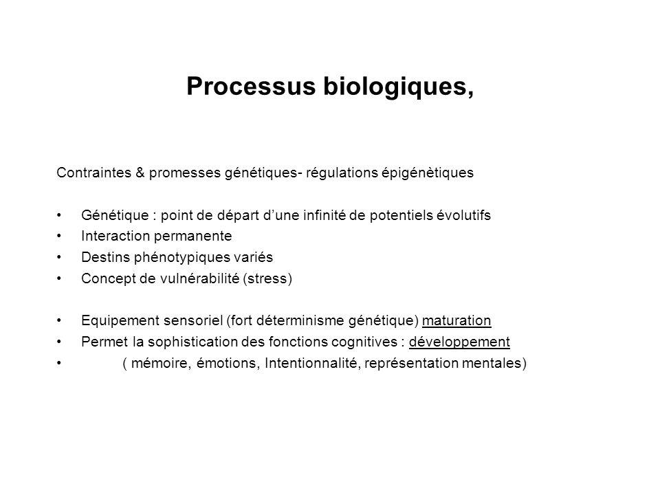 Processus biologiques,