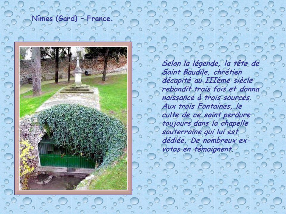Nîmes (Gard) – France.