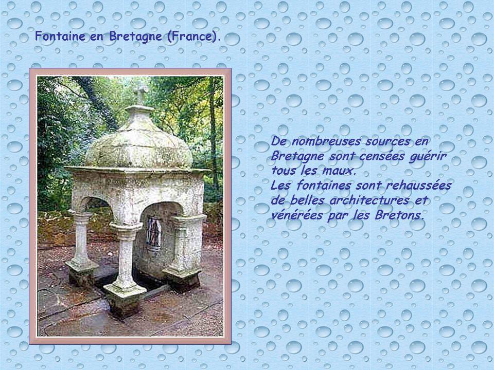 Fontaine en Bretagne (France).