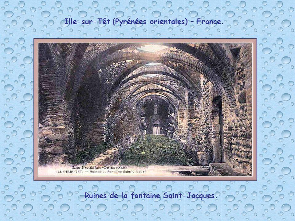 Ille-sur-Têt (Pyrénées orientales) – France.