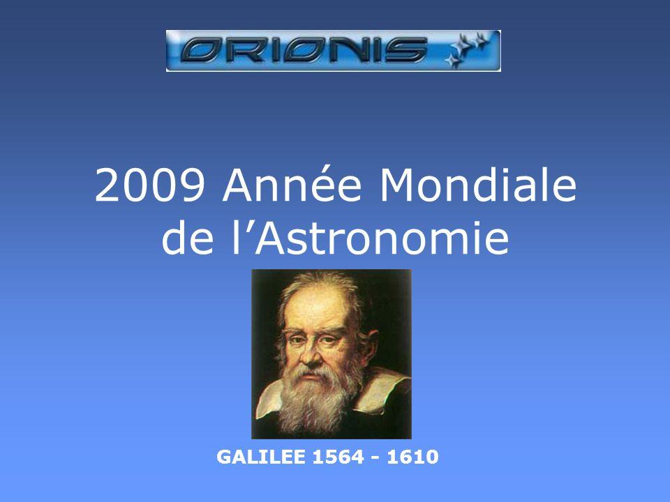 2009 Année Mondiale de l'Astronomie