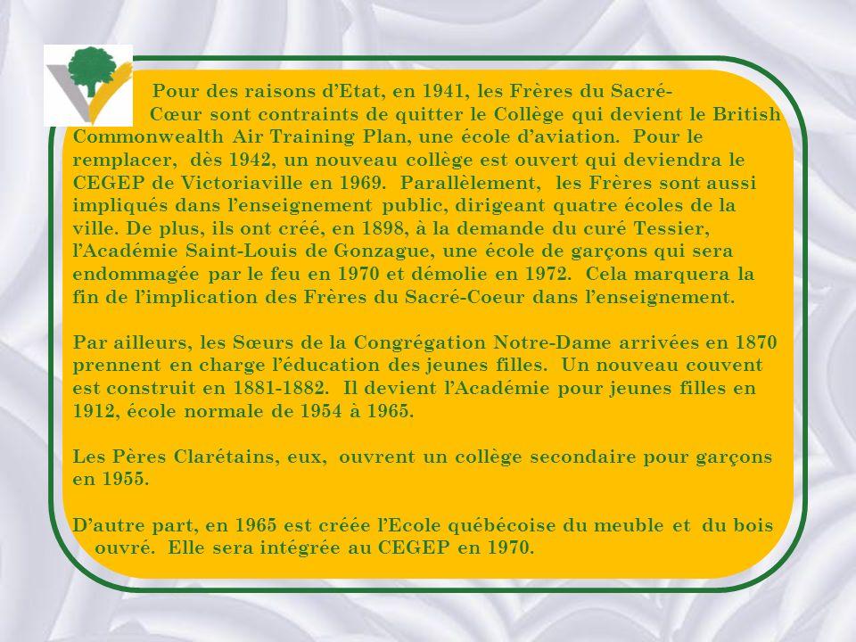 Pour des raisons d'Etat, en 1941, les Frères du Sacré-