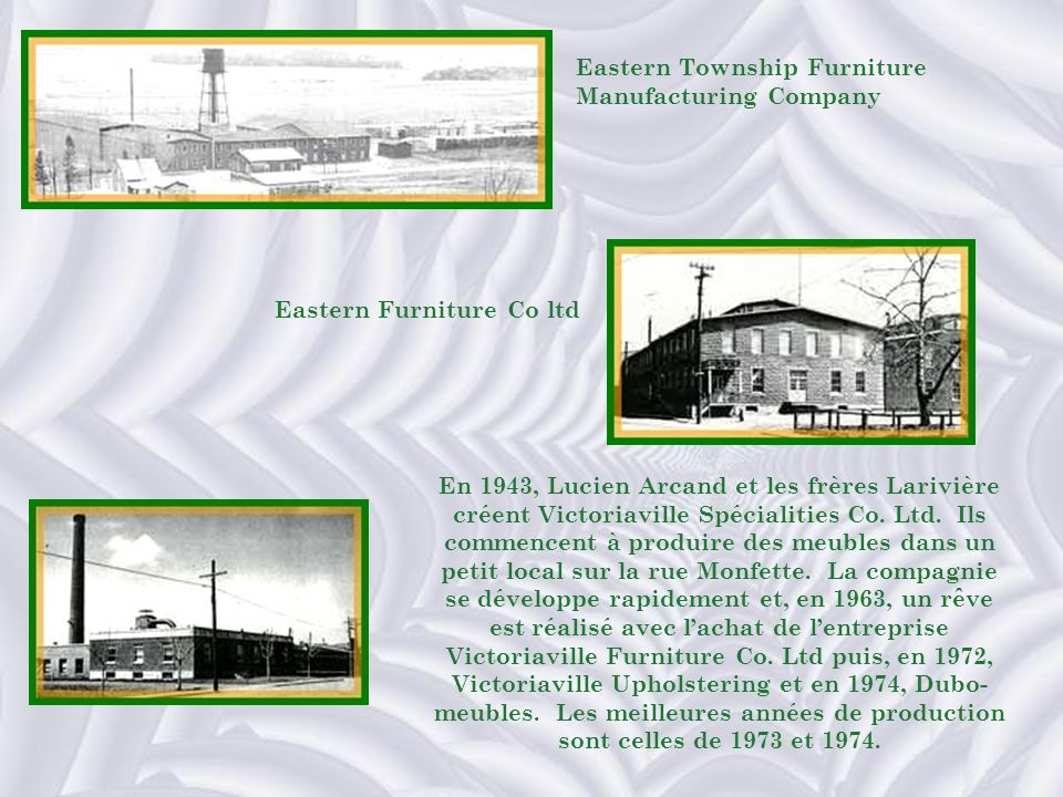 Eastern Township Furniture Manufacturing Company