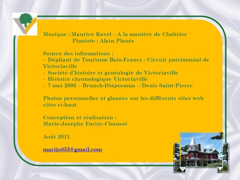 Musique : Maurice Ravel – A la manière de Chabrier