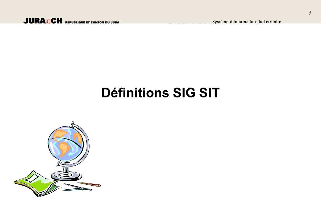 Définitions SIG SIT