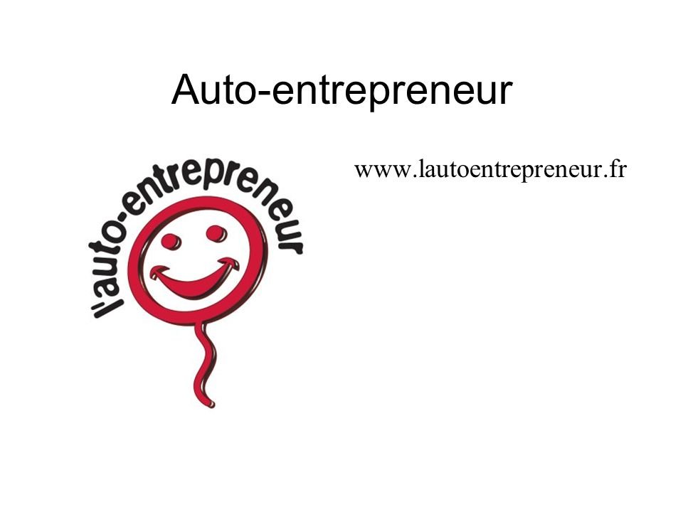 Auto-entrepreneur www.lautoentrepreneur.fr
