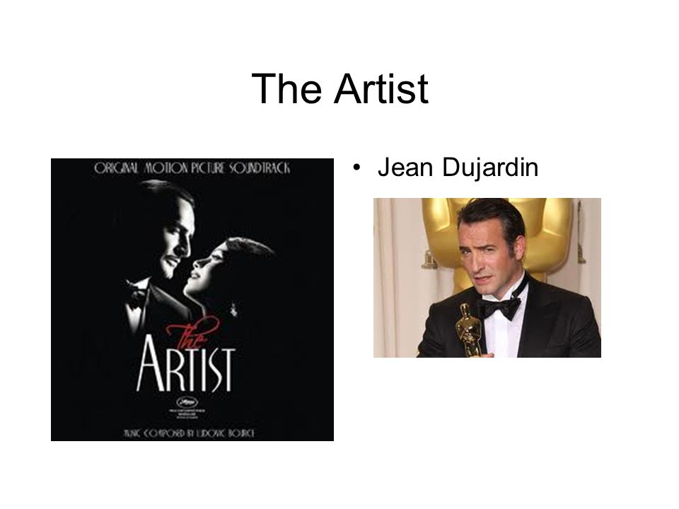 The Artist Jean Dujardin