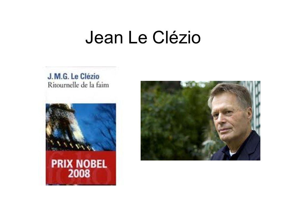 Jean Le Clézio