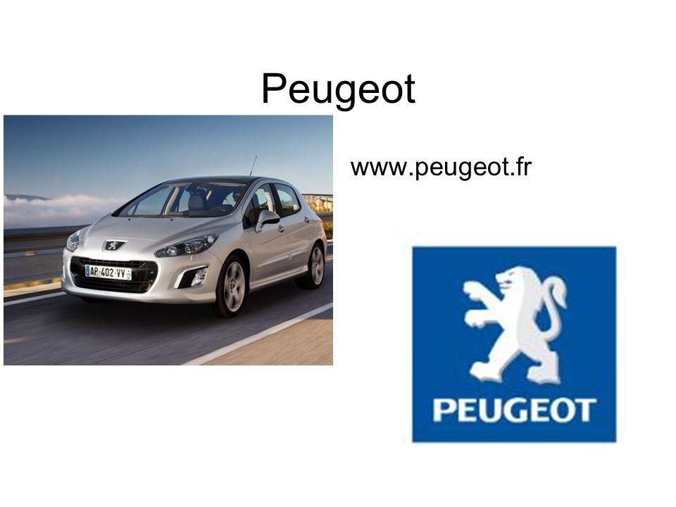 Peugeot www.peugeot.fr