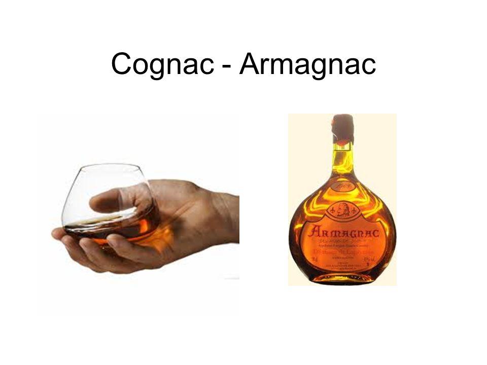 Cognac - Armagnac