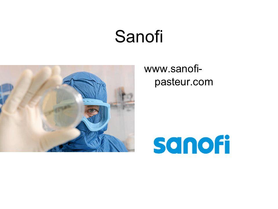 Sanofi www.sanofi-pasteur.com