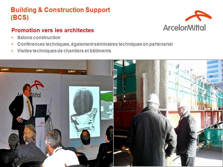 Building & Construction Support (BCS)‏